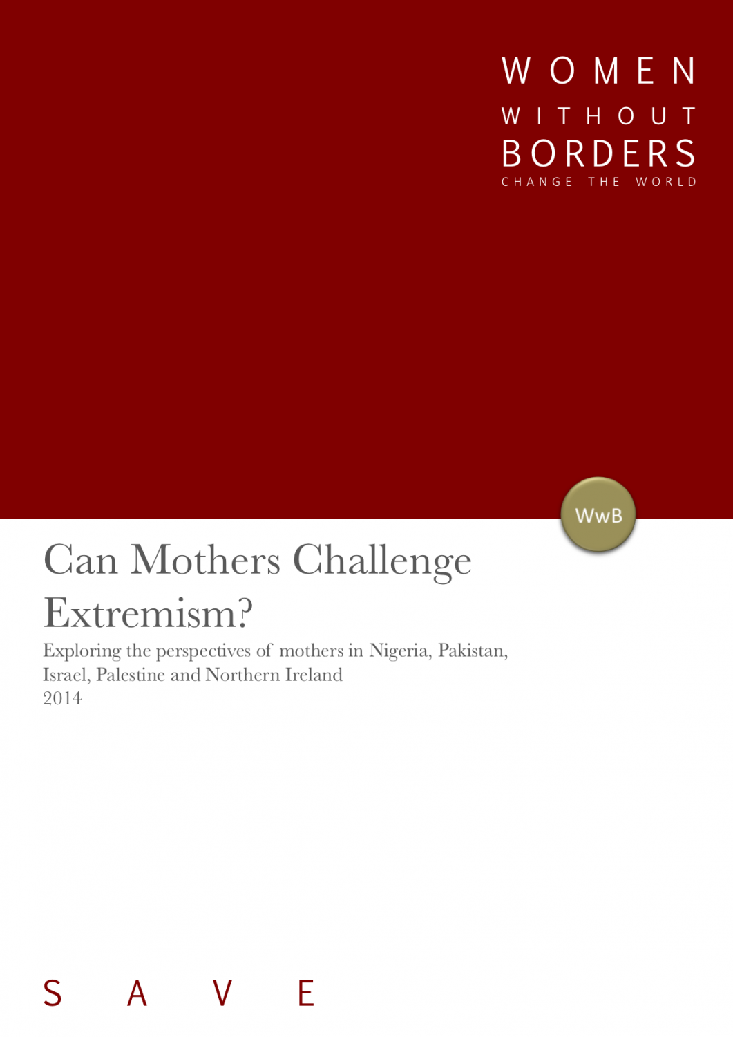 Can Mothers Challenge Extremism?